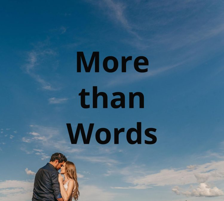 More Than Words – Time to be in tune with my Emotions